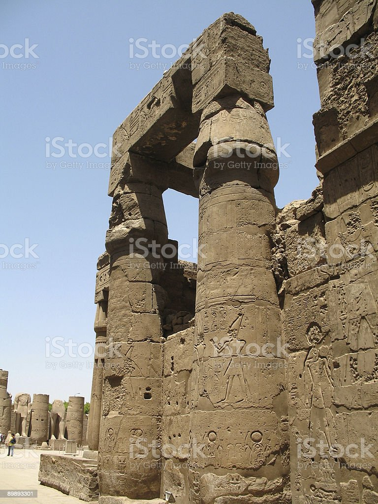 Luxor royalty-free stock photo