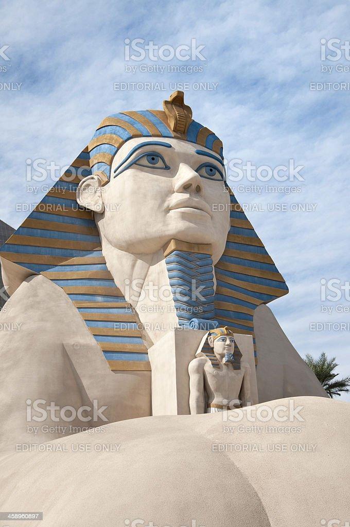 Luxor Sphinx, Las Vegas stock photo