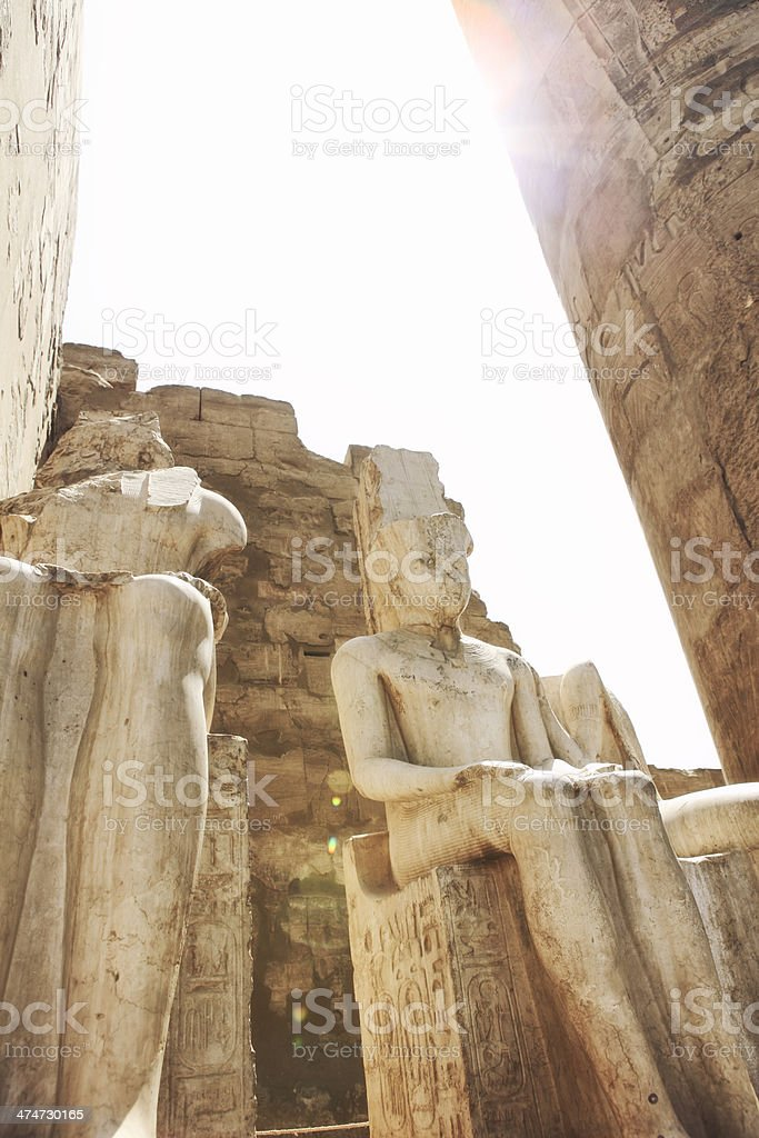 Luxor Temple - Egypt royalty-free stock photo