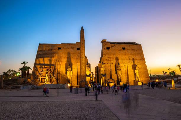 Luxor-Tempel in Luxor – Foto
