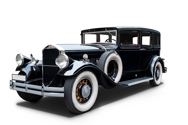 luxurious 1930 pierce arrow - 1930s style stock photos and pictures