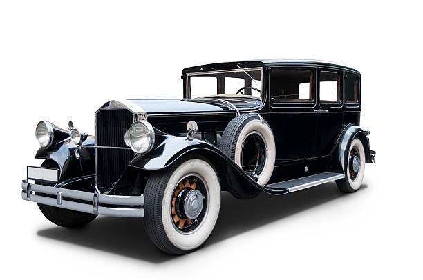 Luxurious 1930 Pierce Arrow stock photo