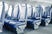 Luxurious Airplane Interior