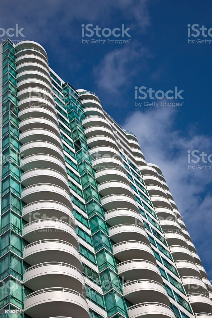 luxurious apartment building royalty-free stock photo