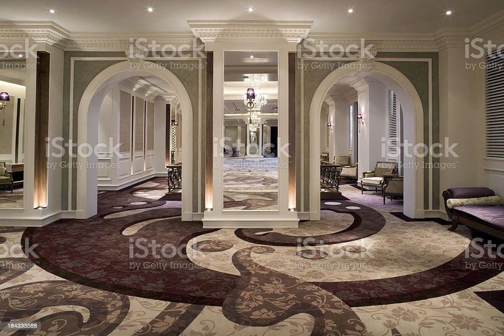 Luxurious Ballroom royalty-free stock photo