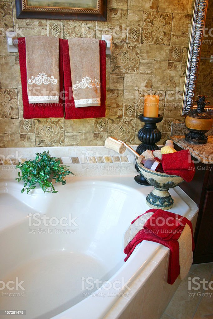 Luxurious Bath royalty-free stock photo