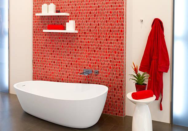 Luxuriöses Badezimmer – Foto