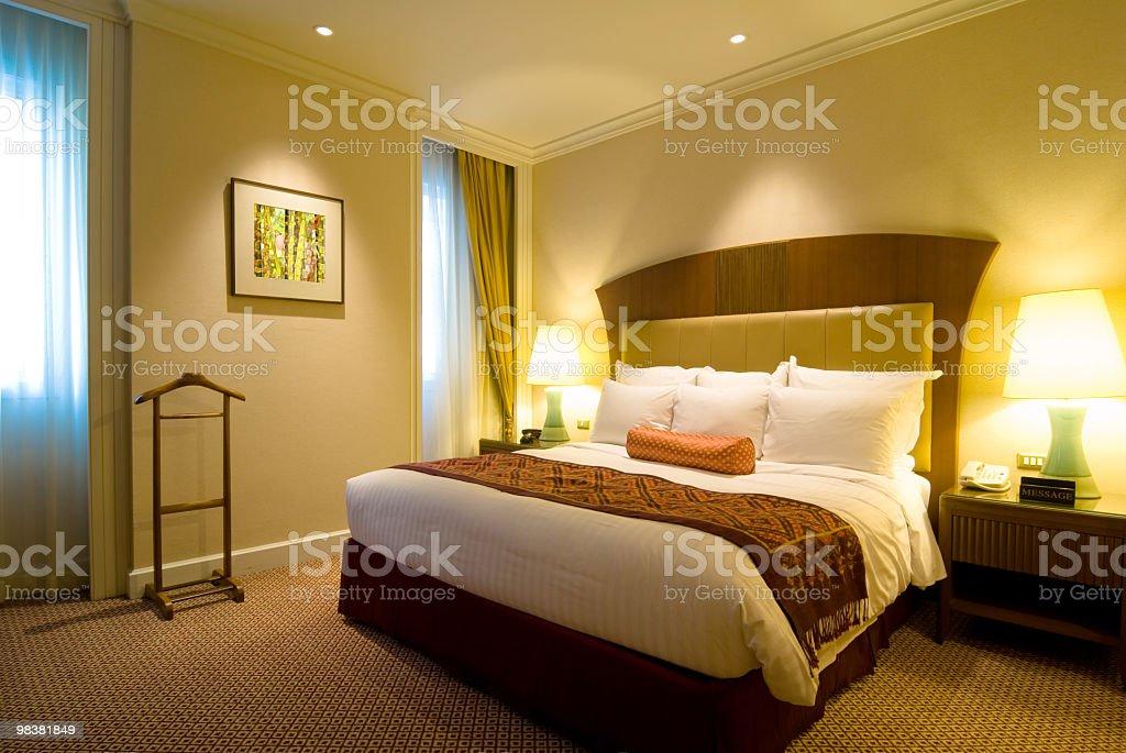 Camera da letto di lusso foto stock royalty-free