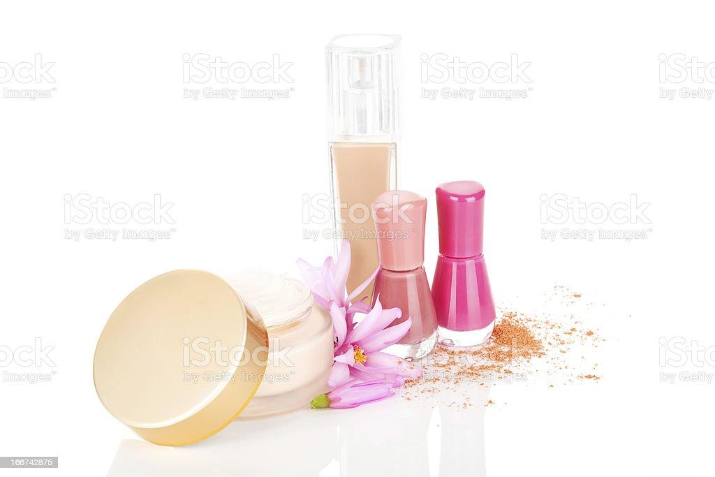 Luxurious cosmetics. royalty-free stock photo