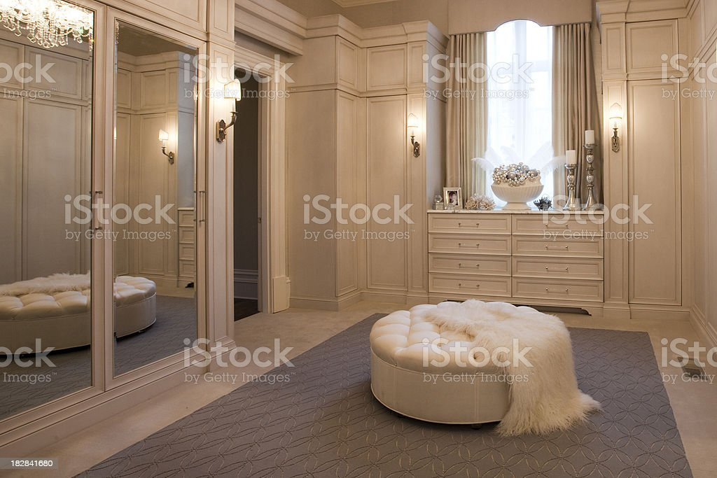 Luxurious Dressing Room In A Home Stock Photo Download Image Now Istock
