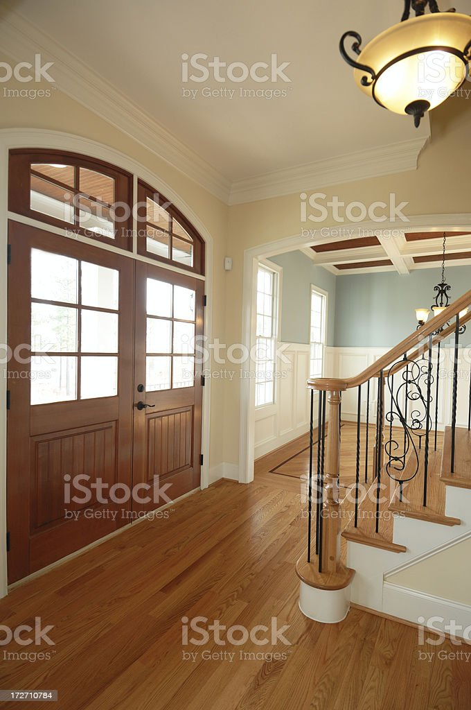Luxurious Foyer royalty-free stock photo