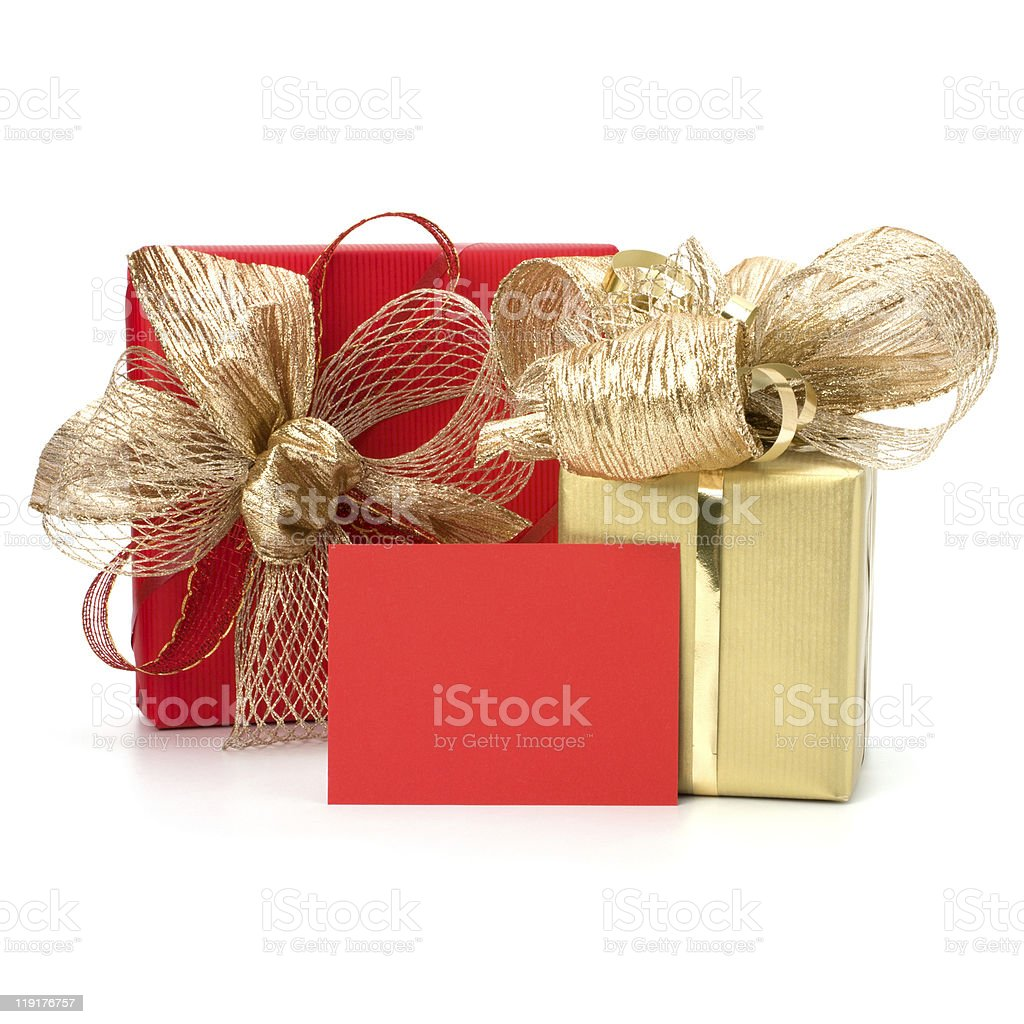 Luxurious gifts royalty-free stock photo