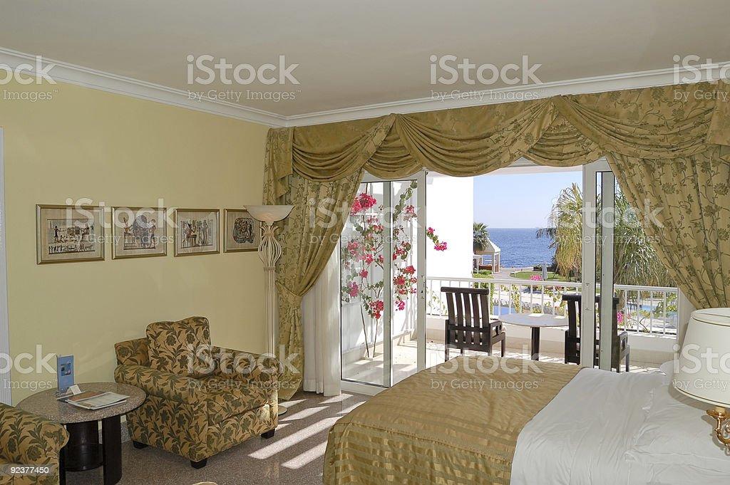 Luxushotel-apartment, Sharm el Sheikh, Ägypten Lizenzfreies stock-foto