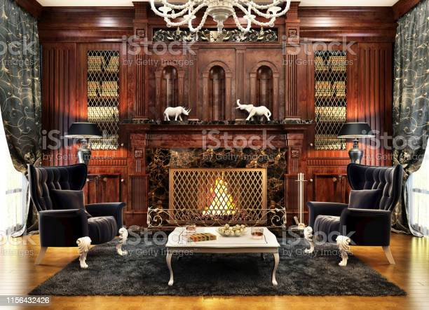Luxurious interior design of the fireplace room picture id1156432426?b=1&k=6&m=1156432426&s=612x612&h=ammdczk6ry297jhedriqe2nrfdz6911pw4ofk6sxghu=