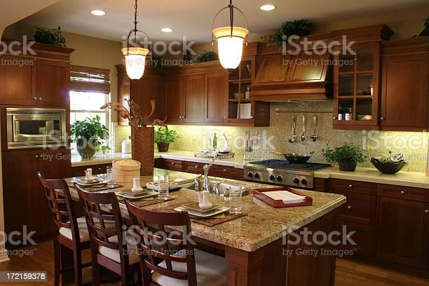Luxurious kitchen with dark wood picture id172159378?b=1&k=6&m=172159378&s=612x612&h=9efqzio6inmndk4aure8ls ksb6xypcdzardhk9sawo=