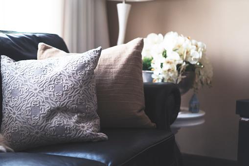 Luxurious Living Room Interior.