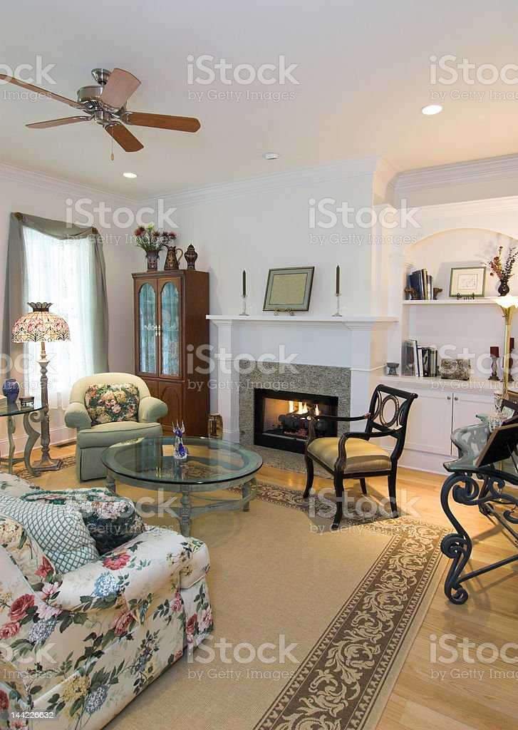 luxurious livingroom royalty-free stock photo