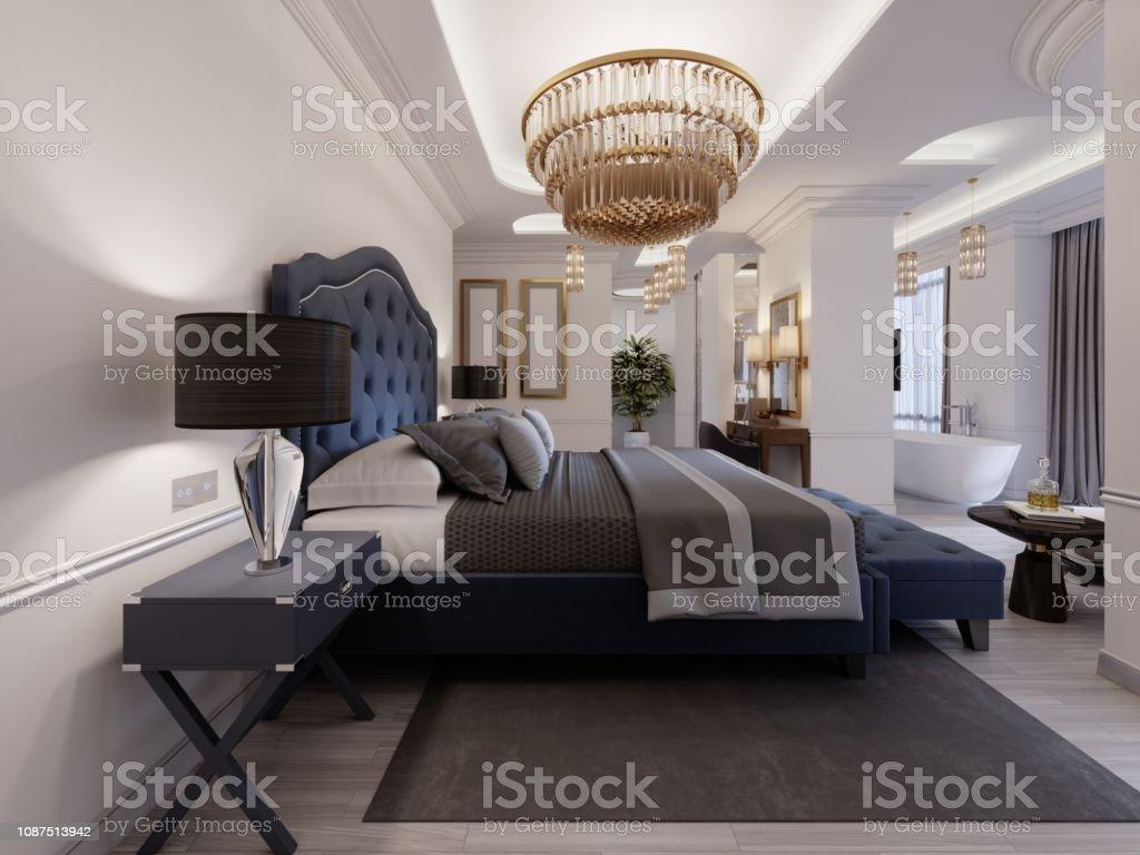 Chambre Ouverte Salle De Bain photo libre de droit de hôtel présidentielle luxueuse