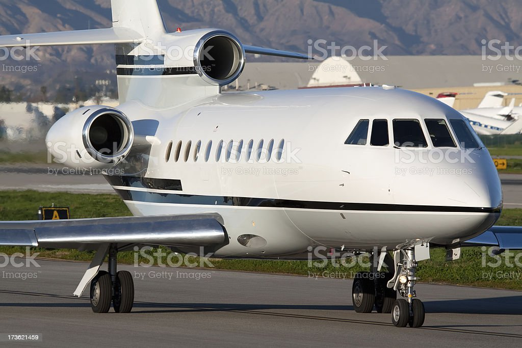 Luxurious Private Airplane royalty-free stock photo