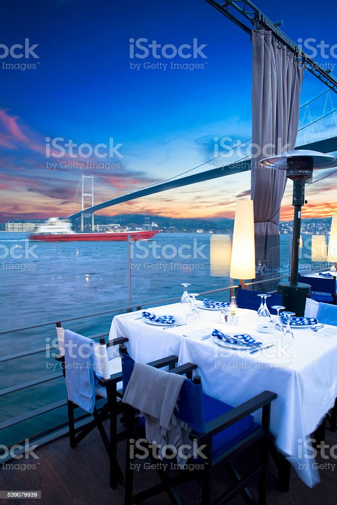Luxurious restaurant and night club​​​ foto