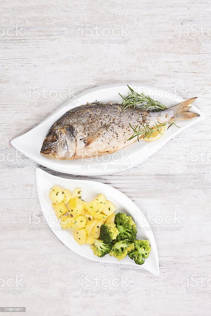 Luxurious seafood eating. royalty-free stock photo