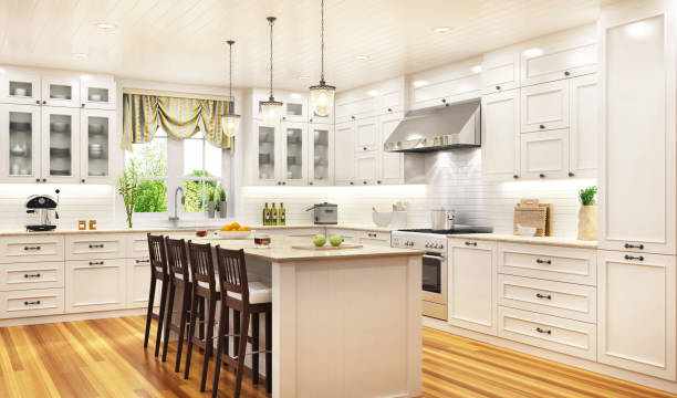 Luxurious white kitchen in a large beautiful house picture id1165365518?b=1&k=6&m=1165365518&s=612x612&w=0&h=a1ibqyubo1mkhfs4imghqnztxvn179wl4ssq2oukmsk=