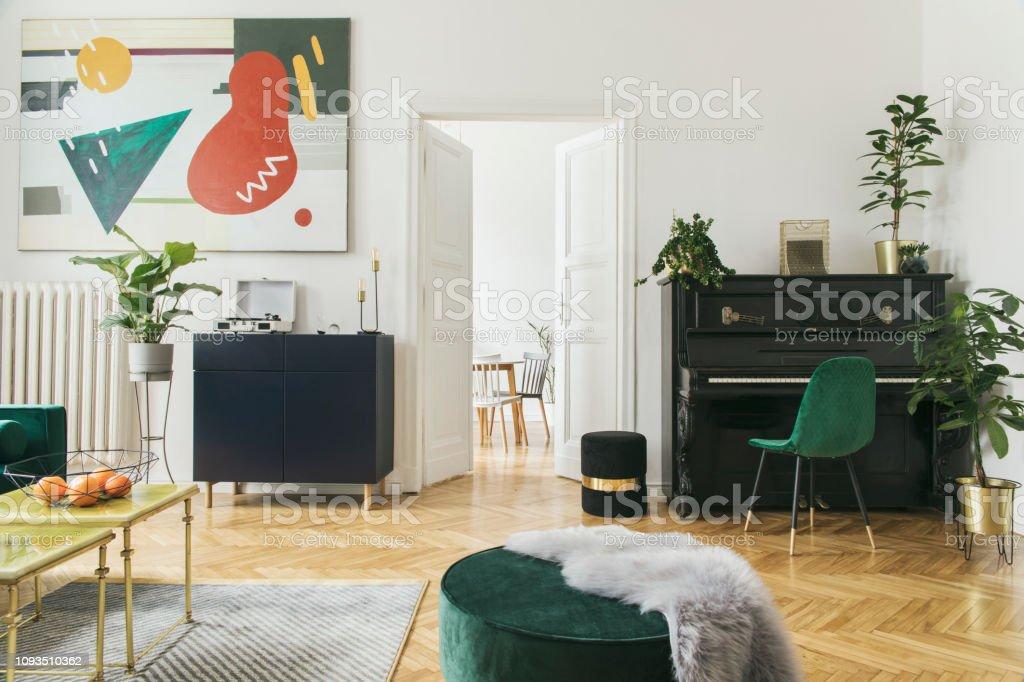 Luxe Design Fauteuil.Photo Libre De Droit De Luxe Et Interieur De La Maison Modern Avec