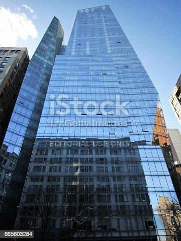 istock Luxury apartment building on Park Avenue 665603284