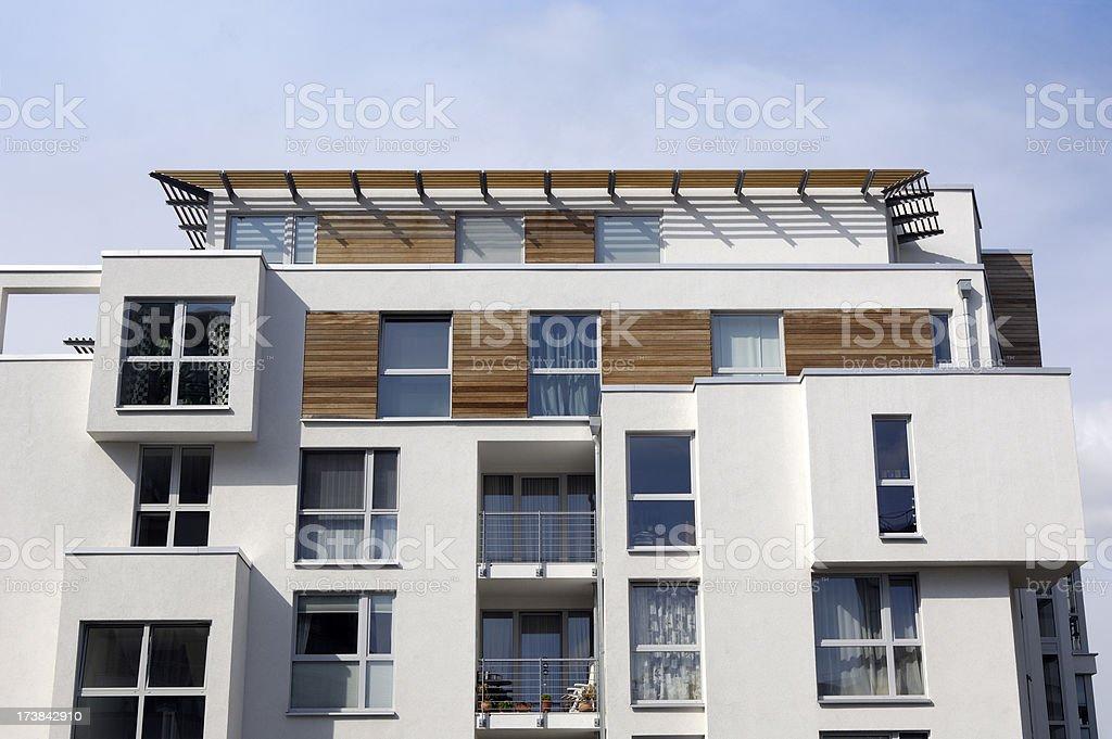 Luxury apartment house royalty-free stock photo