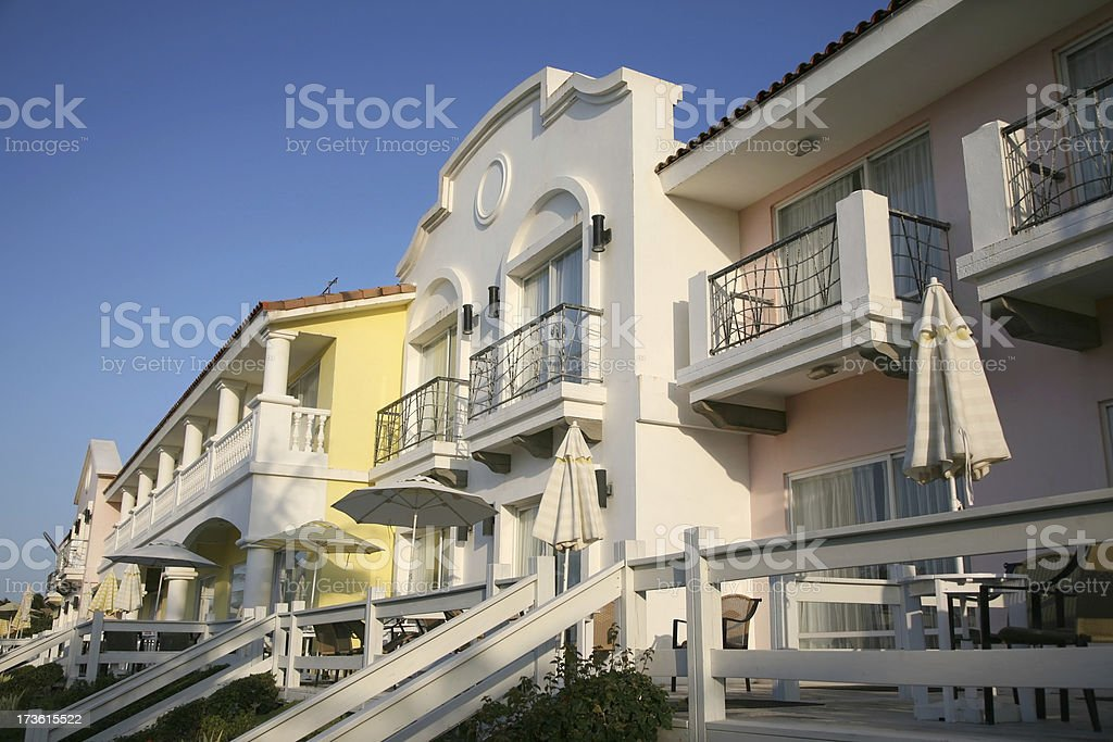 Luxury Apartment Resort stock photo