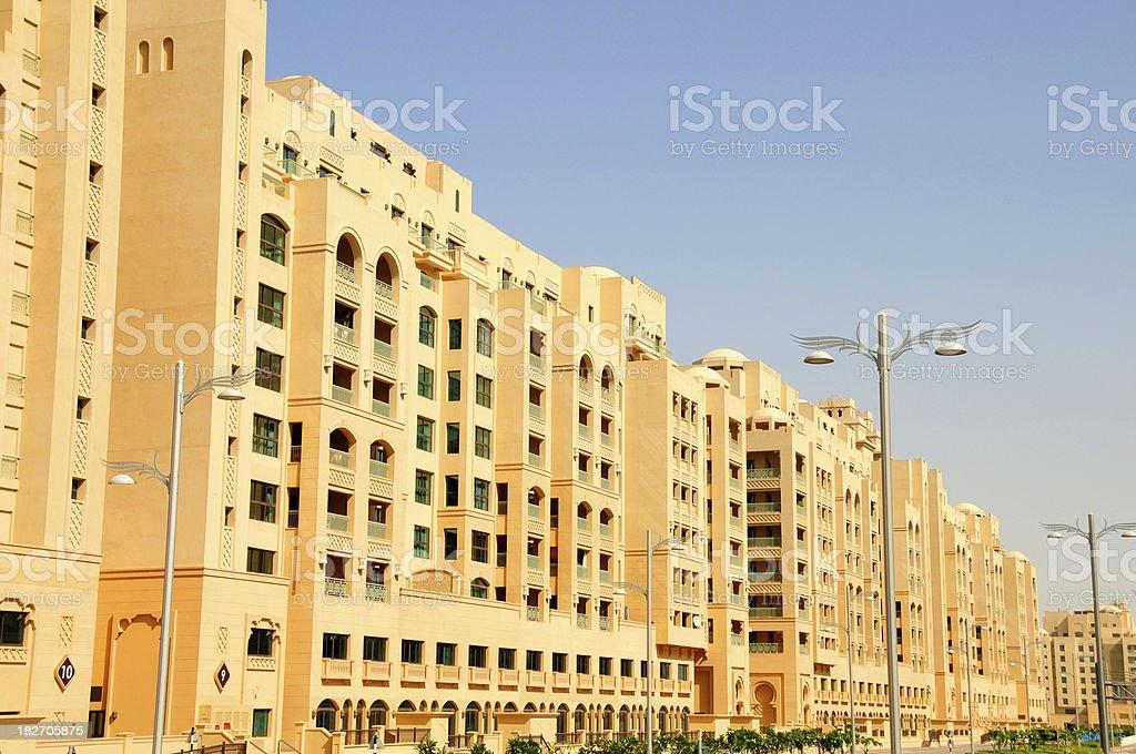 Luxury apartments in Dubai stock photo