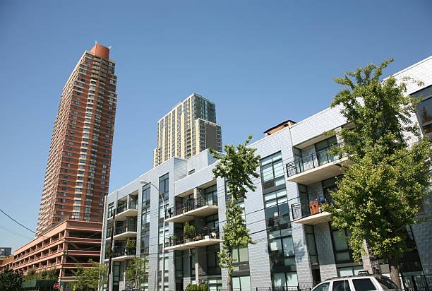 Luxury Apartments In Long Island City stock photo