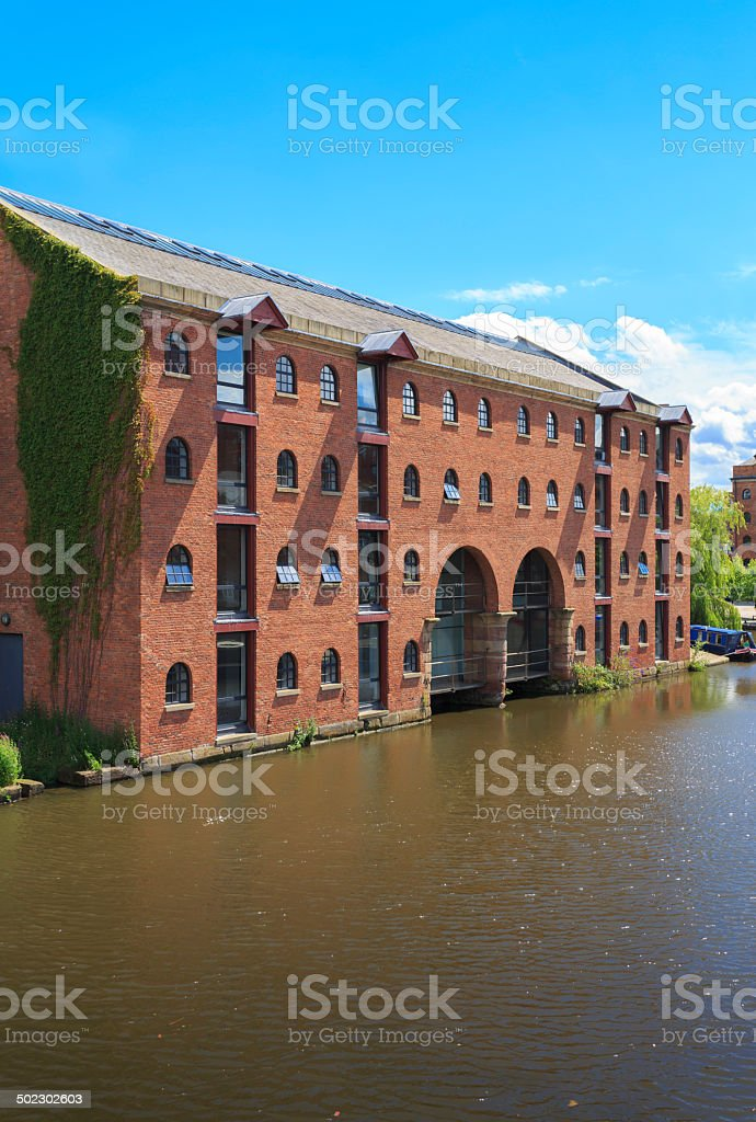 Luxury apartments in Manchester. royalty-free stock photo