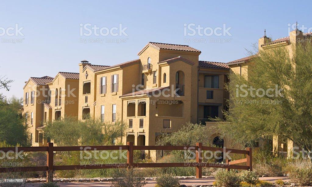 Luxury Apartments in Scottsdale royalty-free stock photo