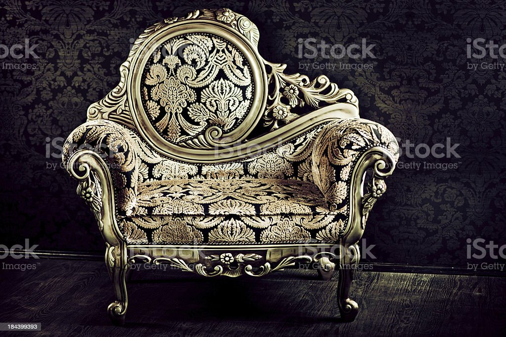 Luxury Arm-chair stock photo