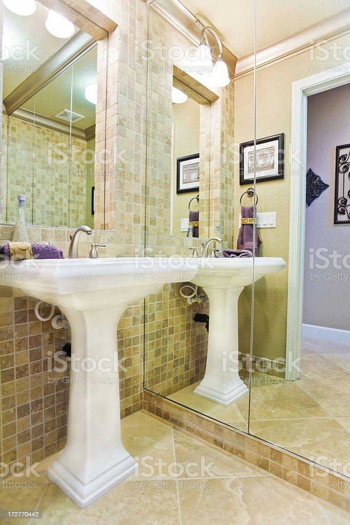 Luxury Bathroom Detail royalty-free stock photo