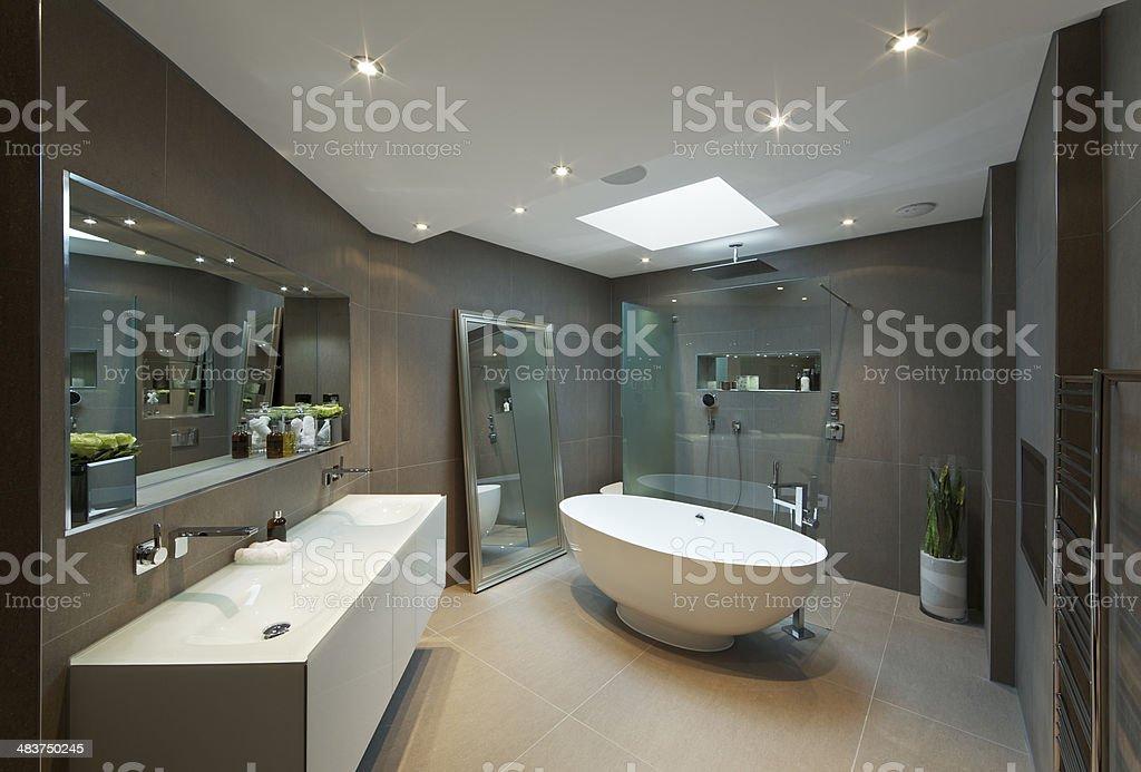 Luxus-Badezimmer in modernen apartment - Lizenzfrei Architektonisches Detail Stock-Foto