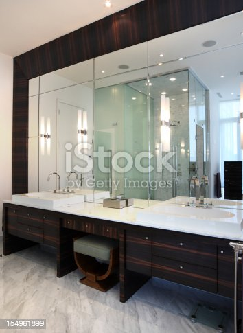 Luxury Bathroom, Interior of modern private residence.