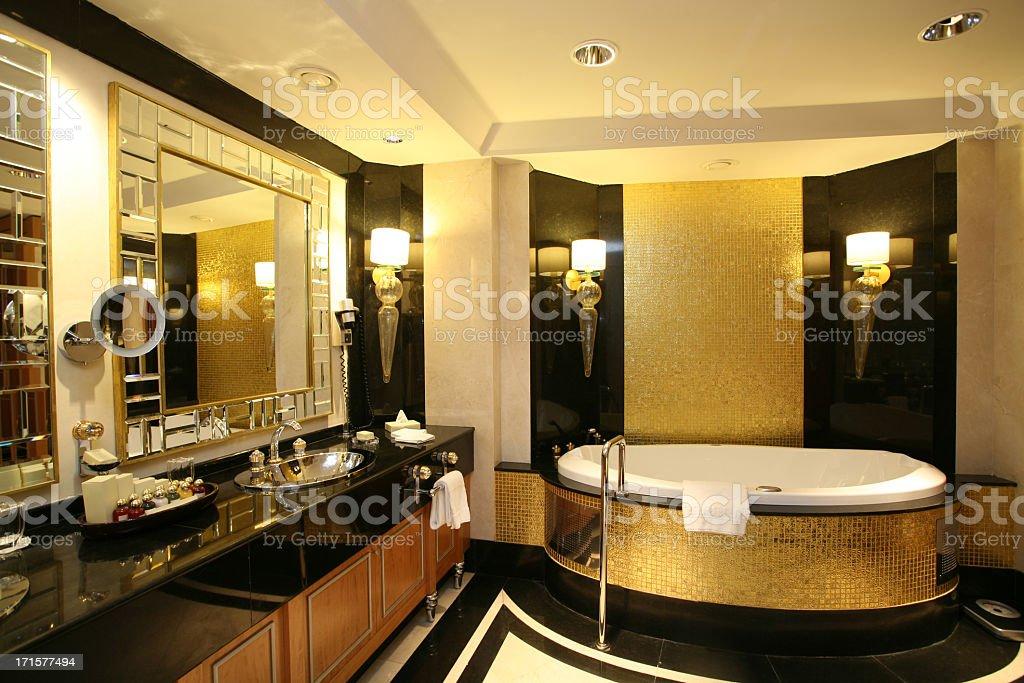 Luxury Bathroom stock photo