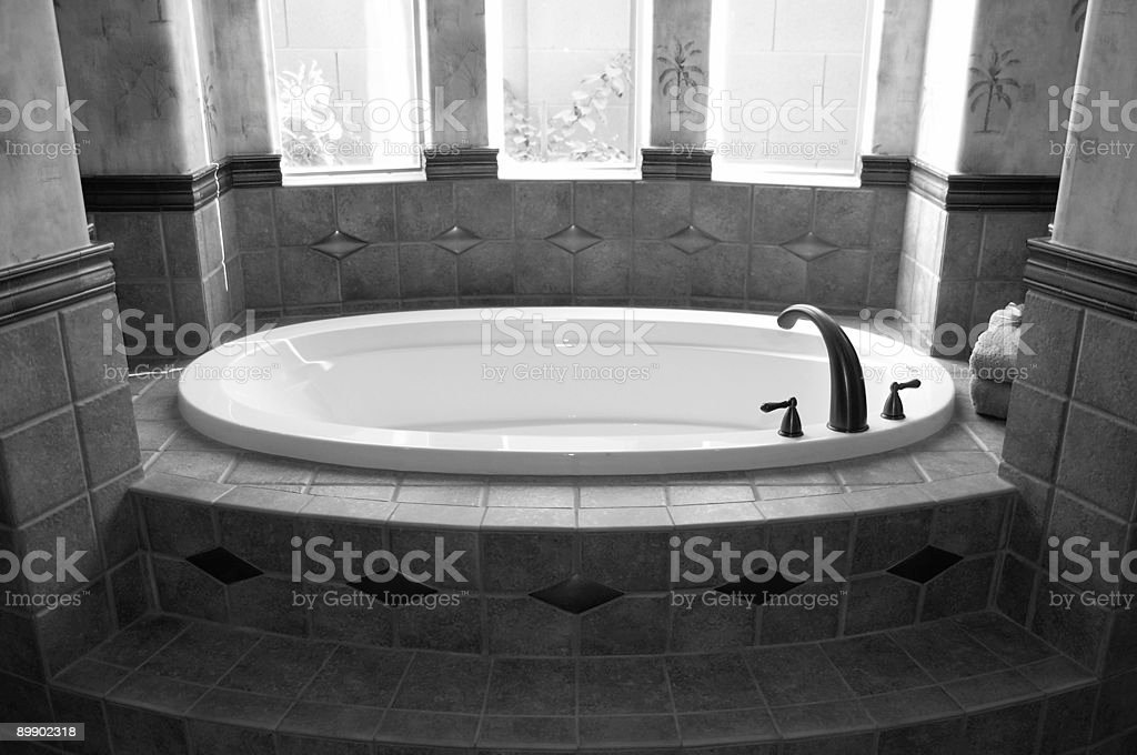 Luxus-Badezimmer Lizenzfreies stock-foto