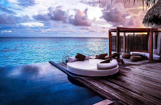 luxury beach resort - kurort turystyczny zdjęcia i obrazy z banku zdjęć