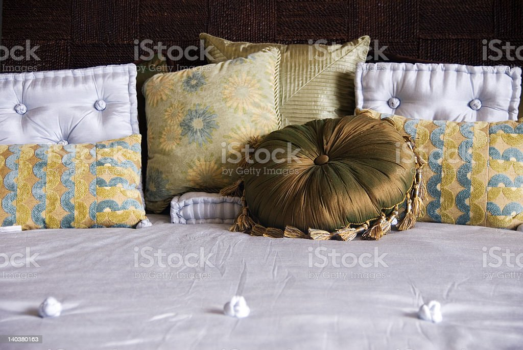 Luxury Bedding royalty-free stock photo