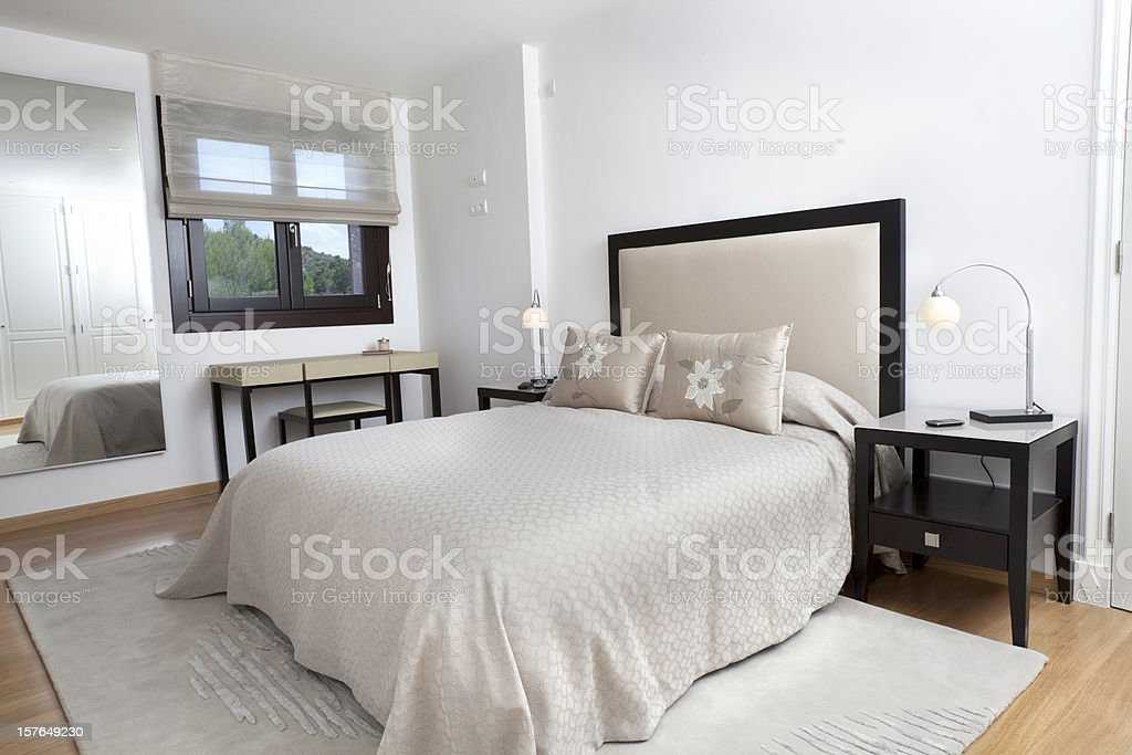 Luxury Bedroom Furnishings (XXXL) stock photo