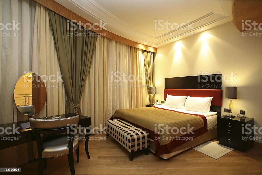 Luxury Bedroom royalty-free stock photo