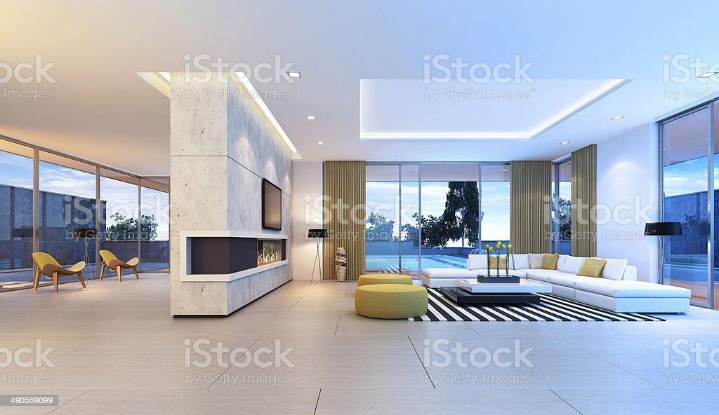 Hotel Di Lusso Interni : Fondo interno della stanza dell albergo di lusso astratto della