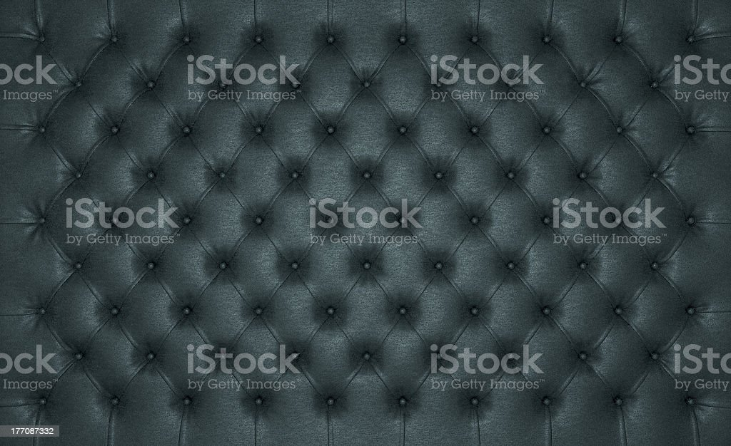Luxury Black buttoned leather texture royalty-free stock photo