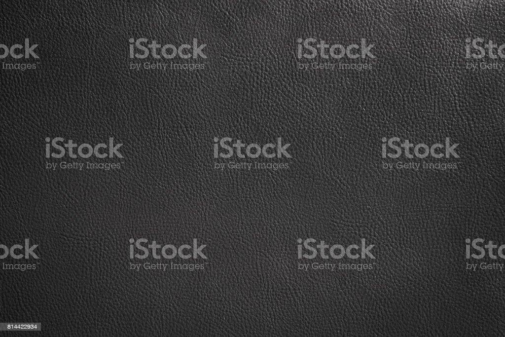 Luxury black leather texture background, Close up detail sofa leather and texture – zdjęcie