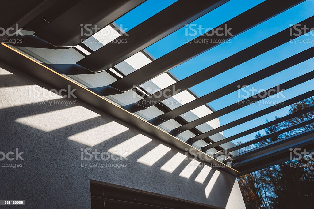 Luxury Blinds On The House and Terrace – Foto