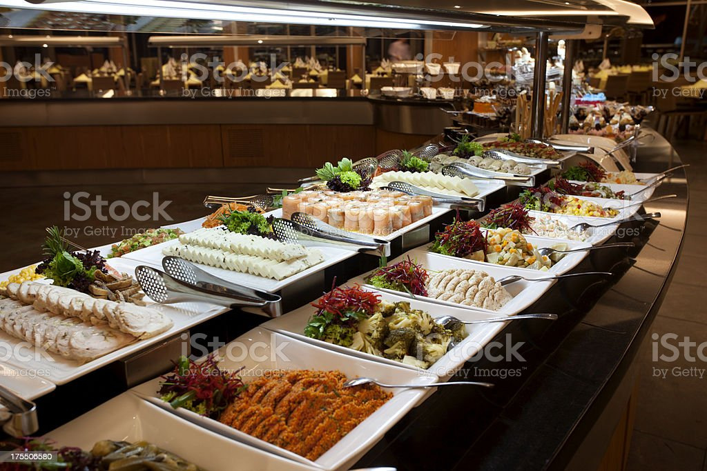 Luxury Buffet stock photo