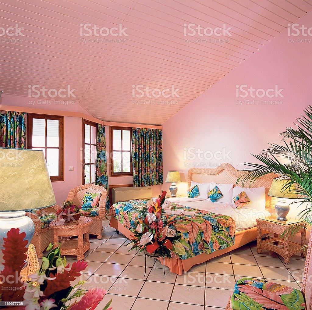 Luxury Caribbean Villa royalty-free stock photo